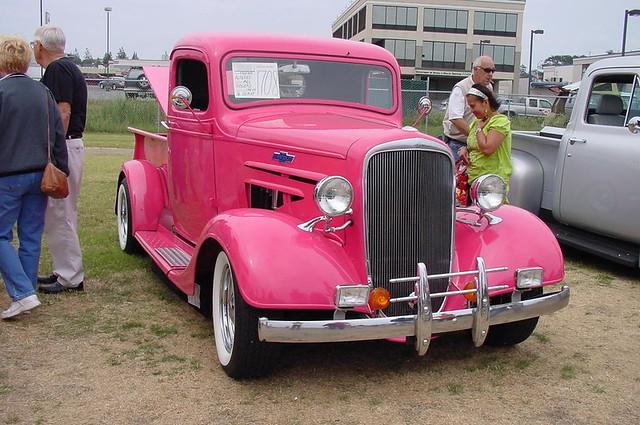 chevy trucks pink - photo #32