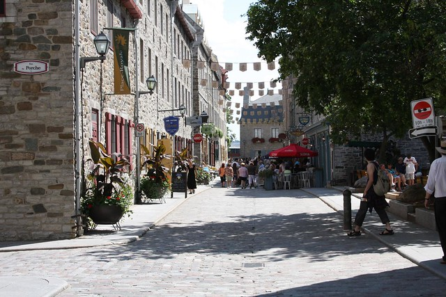 Old part of Quebec City by CC user loimere on Flickr