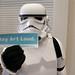 ArtBabble and a Stormtrooper by Daniel Incandela