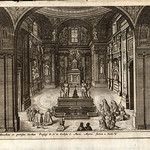 1680s anon - s. maria maggiore in rome - tabernacle with angels XLVI