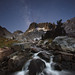 Starry Sierra Stream by Mike Hornblade