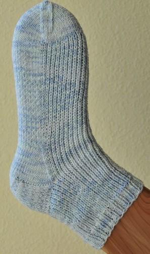 Knit One Below Blues Sock