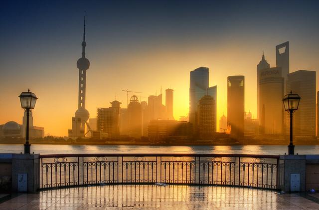 Shanghai - sunrays