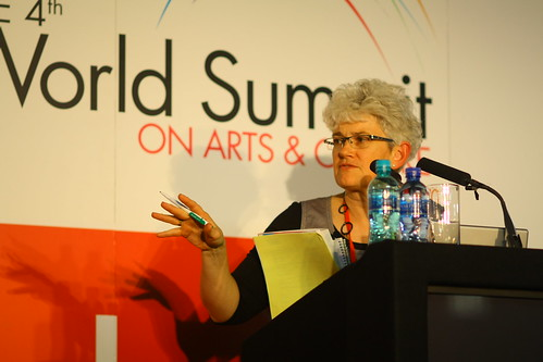 Sarah Gardner (IFACCA's Executive Director), 4th World Summit on Arts & Culture