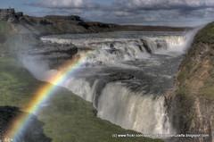 Rainbow over Gulfoss