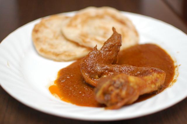 Porotta and Chicken