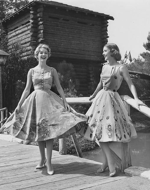 Disneyland Frontier Fashion Show 1950s My Best Friend