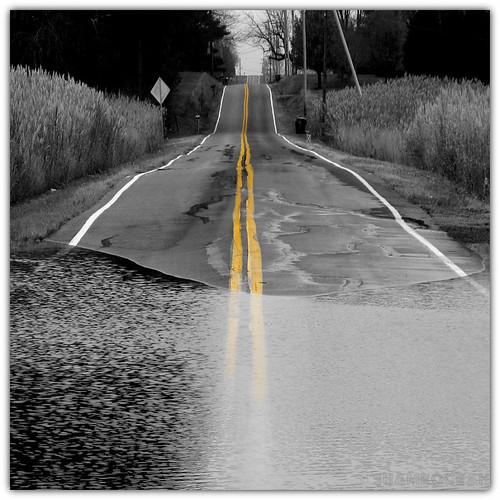 road street usa vanishingpoint covered streetview flooded submersed explored bej newcastlecounty silverrunroad thomaslanding