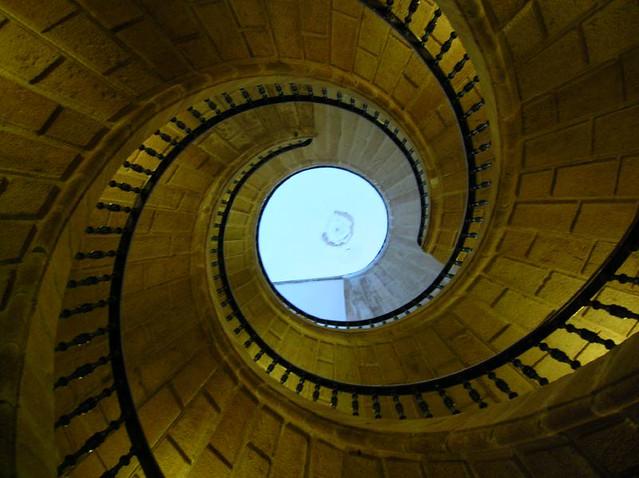 Triple Escalera de Caracol