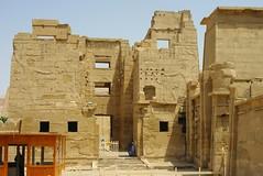 Medinet Habu  (Ramses III Temple)