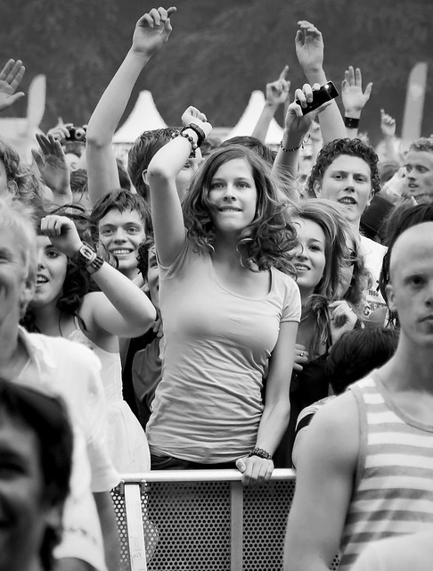 Parkpop 2009 - Dancing girl