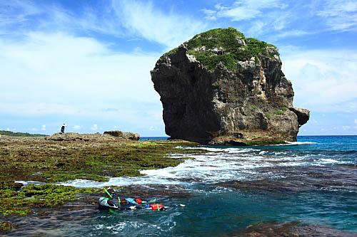 7T75墾丁船帆石-珊瑚礁岩-浮潛
