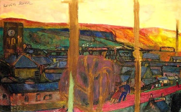 1 place art in newport john wilson for Chartist mural newport