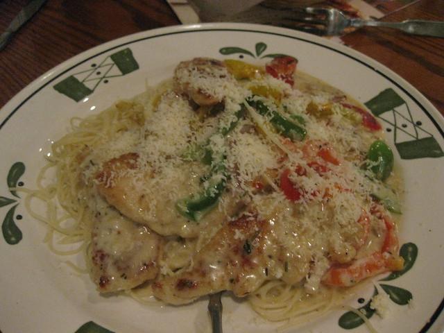 Olive Garden Chicken Scampi Flickr Photo Sharing