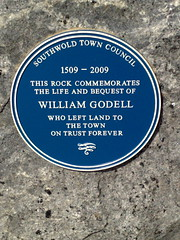 Photo of William Godell blue plaque