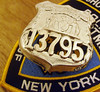 NYPD Officer's sheild