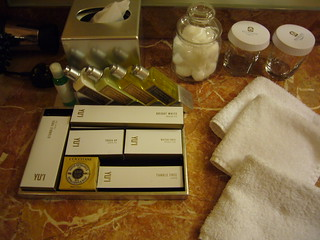 Toiletries and Bathroom amenities