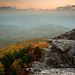 Hawksbill Mountain Sunrise Vertical