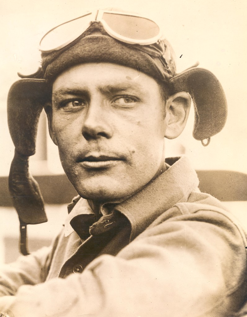 Photograph of airmail pilot John F. Milatzo