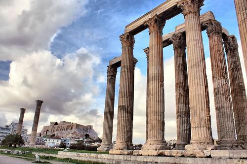 Atene, il tempio greco