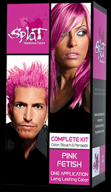 "resume now says: ""Pink Hair Model"""
