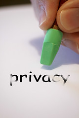 Can more invasive social contact by others indicate shrinking boundaries around privacy?