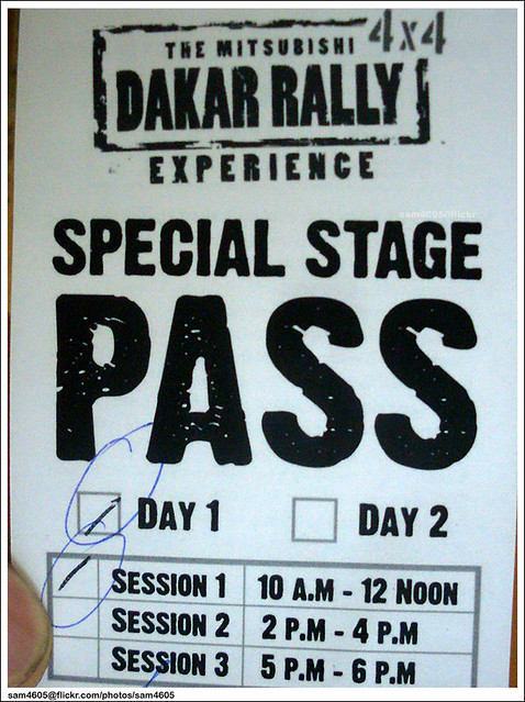 Special Stage PASS