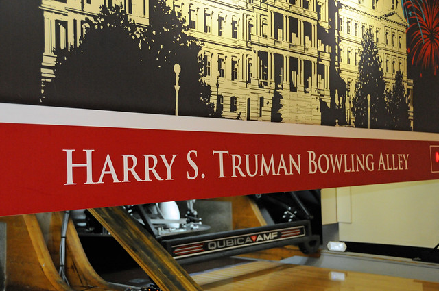 White House Bowling Alley Harry S Truman Bowling Alley