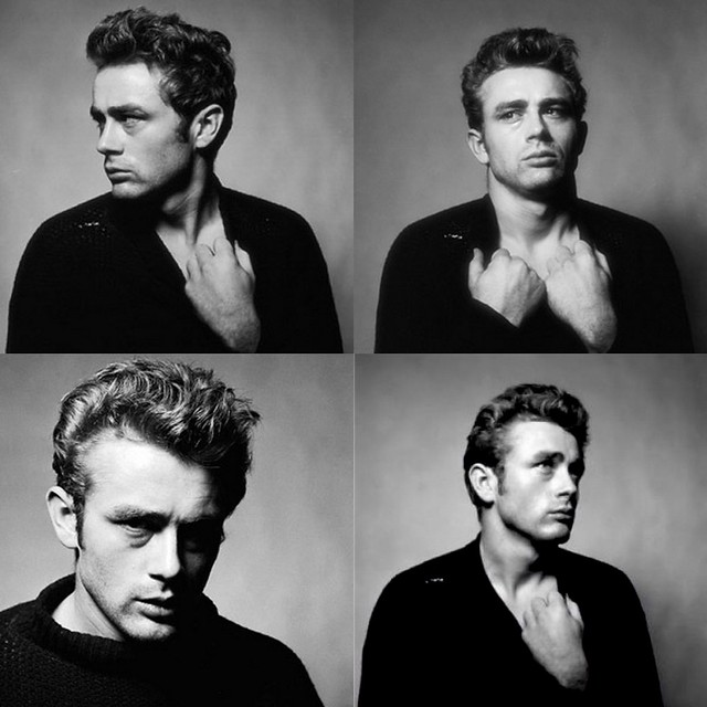 James Dean Collage
