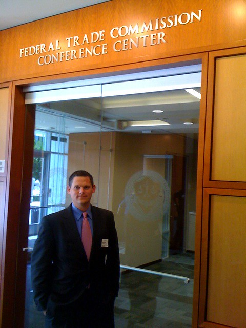 Great meeting at the FTC today. Stricter disclosure FTW! Love it : )