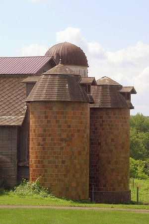 Old Tile Silos Flickr Photo Sharing