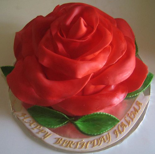 Large rose cake Flickr - Photo Sharing!