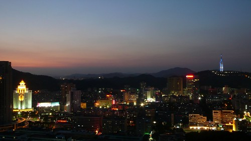 china road city blue light red sky orange tower night landscape geotagged lights noche cityscape nacht district scenic business guangdong hour noite 中国 nuit notte zhuhai nachtaufnahme jingshan 广东 珠海 吉大 ©allrightsreserved 夜间 jida agriculturalbankofchina shihuashan grouptripod geo:lat=22246284 geo:lon=113575158