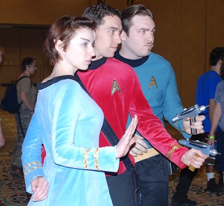 Star Trek convention Las Vegas 2009