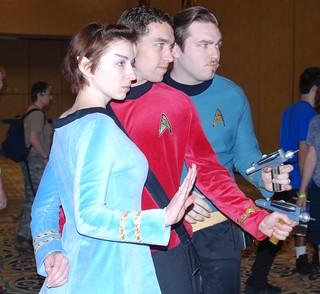 Star Trek convention Las Vegas 2009