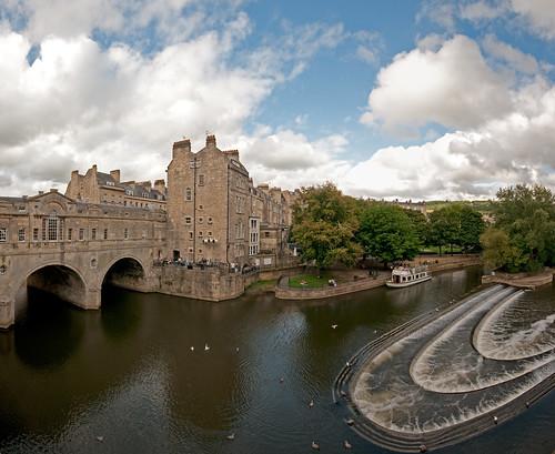 Bath, England (Vertical Pano)