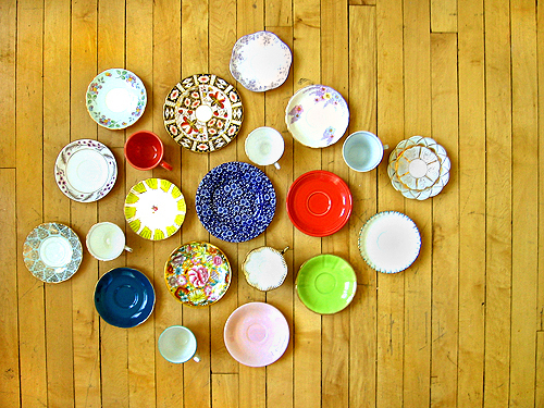 the cup and saucer collection