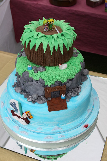 Zelda Wedding Cake This is a wedding cake made by our friend Laura Helps at
