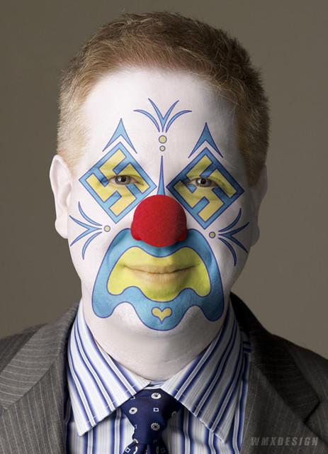 Glenn Beck (Pundit R-Newscorp):: Obstructionist Republican Clown