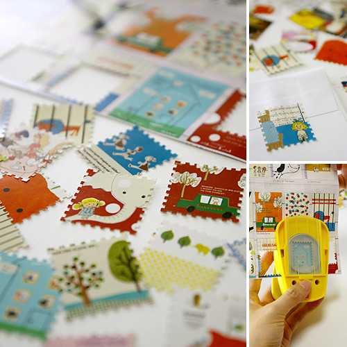 Craft Punch - Postage stamp can be made