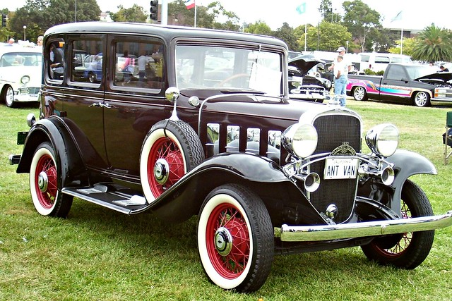 General motors a gallery on flickr for 1932 chevy 4 door sedan