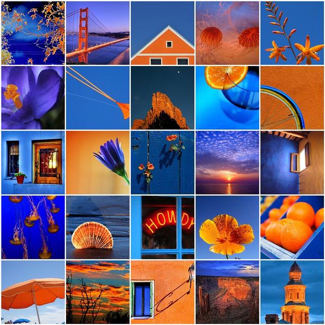 contrasting colors blue orange a photo on flickriver. Black Bedroom Furniture Sets. Home Design Ideas
