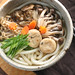 Three Mushrooms Udon for Fall by Miki Nagata (bananagranola)