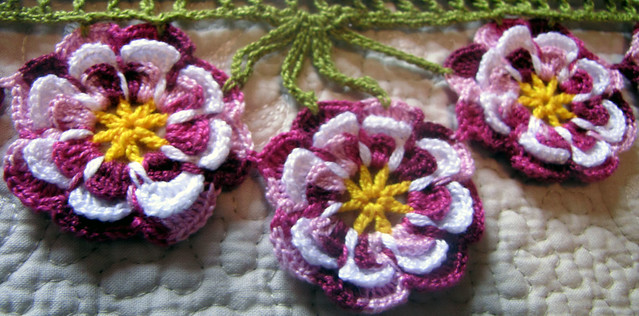 378 - Flor de Crochê