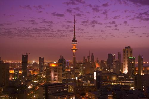 Kuwait in PINK