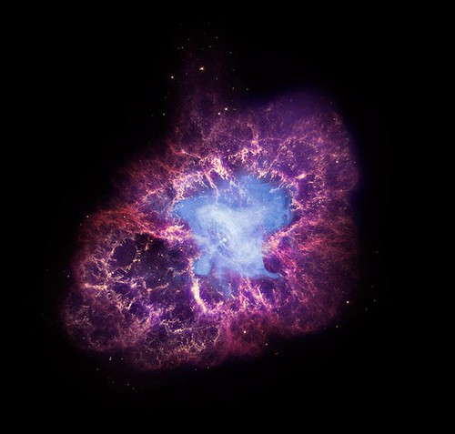 Crab Nebula: Energy for 100,000 Suns (NASA, Chandra, 11/23/09)