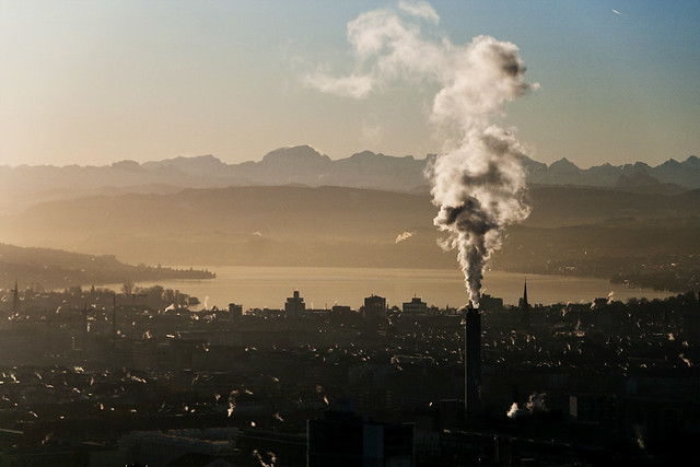 Finding The Beauty In Air Pollution