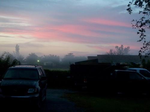 sunrise dawn miami
