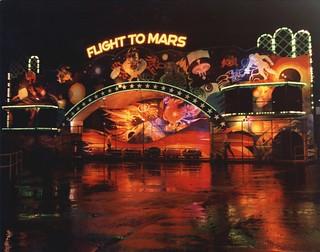 Seattle Center amusement rides, circa 1970