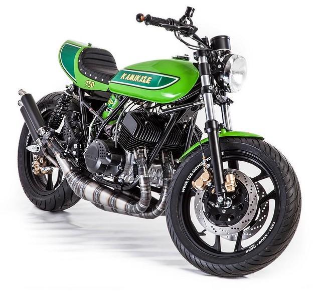 "Kawasaki ""Kamikaze"" Cafe Racer"